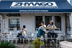 10.北谷にあるジバゴ コーヒー ワークス オキナワ、雰囲気良かったですよ~!