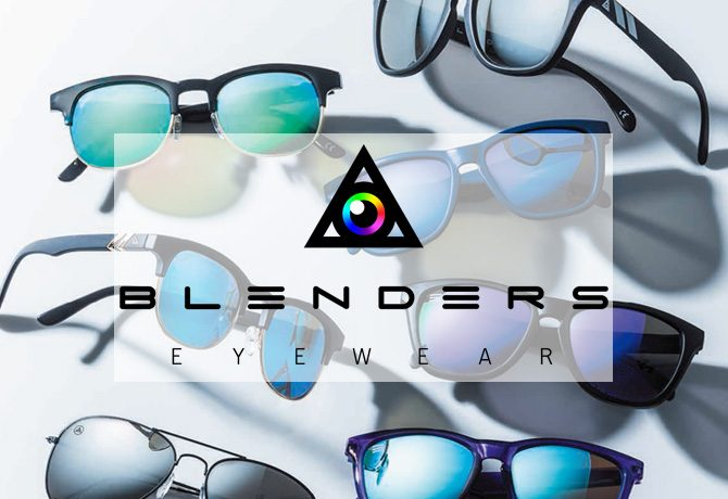 今月の「メンズジョーカー プレミアム注目アイテム」-BLENDERS EYEWEAR-