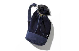 刺子織りの生地を使用した「語れる」ボンサック