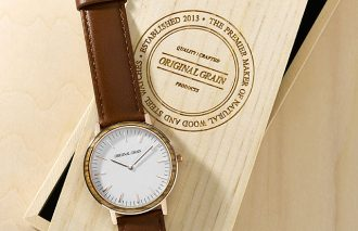 自然と都会の感性を融合させた腕時計で周りに差をつけろ!