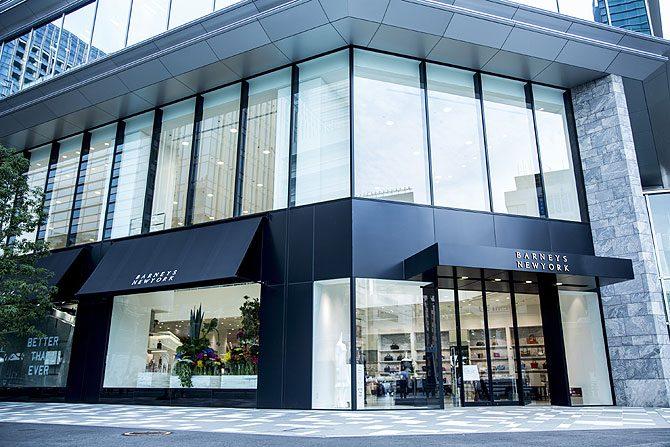 ラグジュアリー感を意識した新店舗「バーニーズ ニューヨーク六本木店」