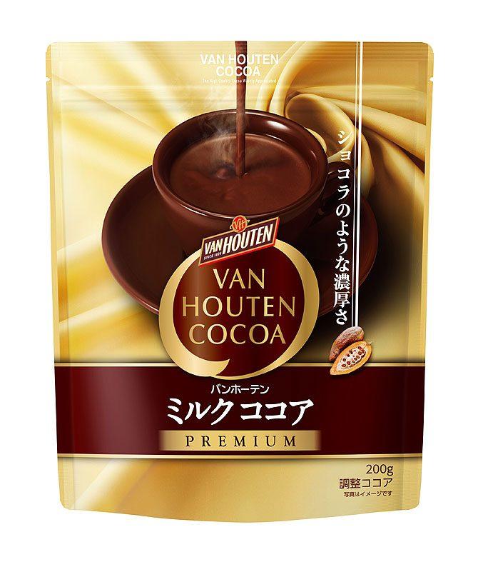 ショコラのような濃厚さ「〈バンホーテン〉ミルクココア プレミアム」