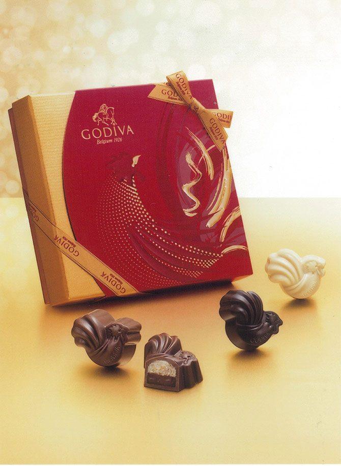 新しい年の幕開けにふさわしい〈ゴディバ〉の期間限定チョコレート