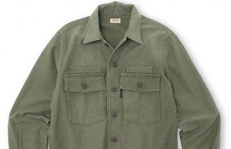 「コレ買い!」〈ハリウッド ランチ マーケット〉バックサテンUSEDアーミーシャツジャケット