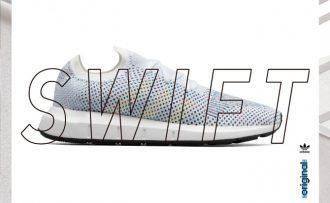 【adidas Originals】過去のランニングシューズのアーカイブをアップデート!ニューモデル「SWIFT」を発売!