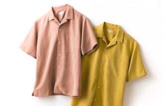 【AT-SCELTA.COM】 VOL.14 [WEB別注]モダールオープンカラーシャツ