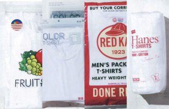 着て洗って測って検証!買いの4大パックTシャツの比較研究