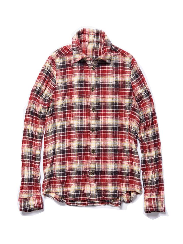 【ダボロ】チェックシャツ