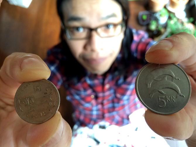 出汁をでじると読む人生<br>第二十回【コインを選別する人生】