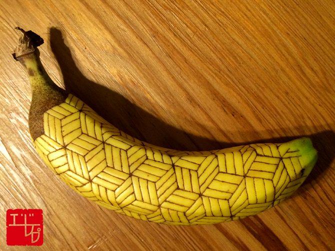 第二十一回 寄木細工のバナナ
