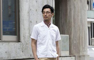 読者モニター 千葉純也さんの9着ワードローブ