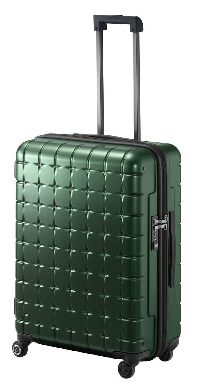 人気の〈プロテカ〉スーツケース360シリーズに新色のグリーンが登場