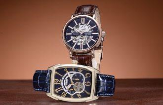 洗練されたデザインとクラシック顔を愉しむ<br>BAROQUE(バロック)スケルトン仕様で楽しむ機械時計