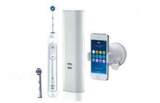 〈ブラウン〉史上最高の技術でスマートフォンと連動する歯ブラシ