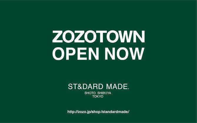 渋谷の「スタンダードメイド」が満を持してZOZOTOWNにオープン