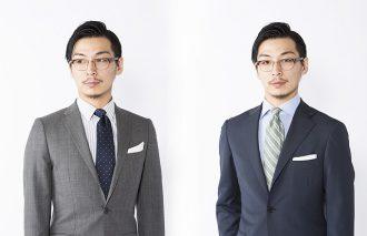 スーツをカッコよく着る!ビジネススーツ「色・柄・素材」の基礎知識 1