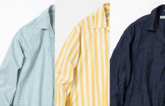 季節感満点!珠玉のトリプルコラボシャツ SELECT THE NEW+