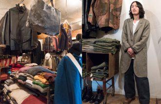 奥渋谷の名店「ブラケット」 日、英、米、仏へ、自ら古着を買い付け!