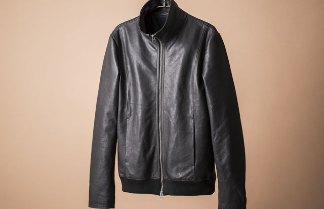 "MJ SELECT THE ""nano・universe "" EXCLUSIVE LEATHER JACKET 別注レザージャケット"