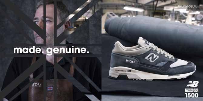 【new balance】Made in U.Kのフリンビー工場35周年記念モデルが発売!