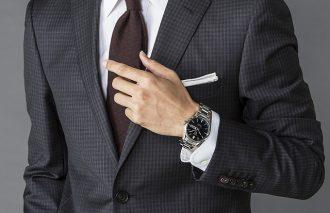ビシッとスーツを着るために。BIZスタイルにマッチする時計って何? Q&Aでレクチャー!BIZスタイルの簡単1up講座 ~第7回~