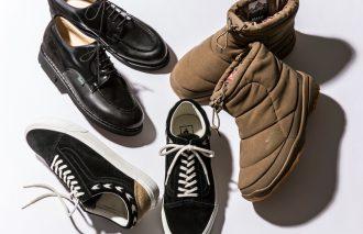 """冬のおしゃれを熱くするSPECIALなブーティ、革靴、スニーカー  MJ SELECT THE """"NEW"""""""