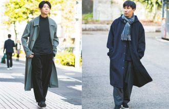 ロングコートをどう着こなす? 今年の正解は「ゆる」×「ゆる」に!!