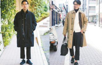 ロングコートをどう着こなす? ブラックとベージュ2大勢力の今年の正解集