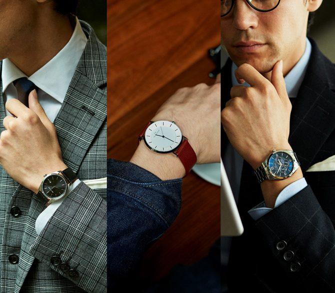 幅広い世代から人気の理由とは? 〈ザ・クロックハウス〉の時計が選ばれる「3つのポイント」