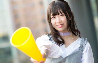 日本カルチャーを世界に届けるアイドル『わーすた』松田美里ちゃんが春の新スタートを応援してくれた!!