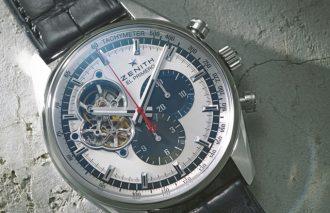 男らしさを主張する、誰もが憧れる腕時計がクロノグラフ【ゼニス】