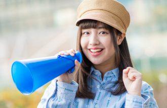 日本カルチャーを世界に届けるアイドル『わーすた』小玉梨々華ちゃんが春の新スタートを応援してくれた!!