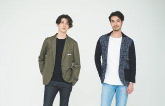 ジャケット&ジーンズのA案・B案 ~ニットジャケット or ナイロンジャケット編~