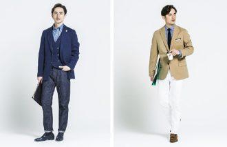 ジャケパン&ビジカジを成功に導くシャツ&タイのメソッド ノータイを美しく見せるシャツ選び