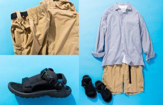 インディビジュアライズド シャツ×ザ・ノース・フェイス×テバ〜粋なシャツと短パンとサンダル〜 #2