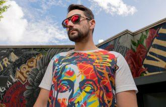 A|Xアルマーニ エクスチェンジがストリートアーティストとコラボTシャツを発売!