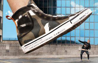 ディーゼルの遊び心が詰まったスニーカー「DIESEL IMAGINEE(ディーゼル イマジニー)」が発売