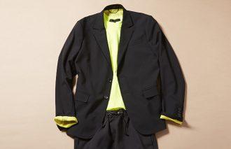 ジャケット着ても脱いでも、おしゃれなTシャツコーデ #5