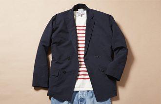 ジャケット着ても脱いでも、おしゃれなTシャツコーデ #2
