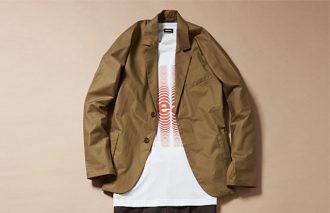 ジャケット着ても脱いでも、おしゃれなTシャツコーデ #4