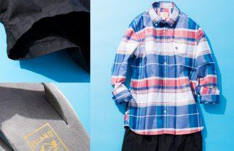 ブルックス ブラザーズ×ロンハーマン×アイランド スリッパ〜粋なシャツと短パンとサンダル〜 #1
