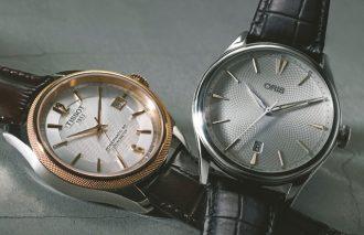 """男が譲れない腕時計の条件!それは腕元の""""男らしさ""""【ORIS & TISSOT】"""