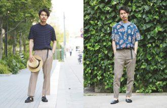 季節の変わり目!おしゃれ業界人の5月のシャツと6月のTシャツを拝見!~第3回~