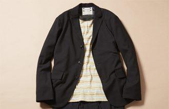 ジャケット着ても脱いでも、おしゃれなTシャツコーデ #8