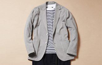 ジャケット着ても脱いでも、おしゃれなTシャツコーデ #11