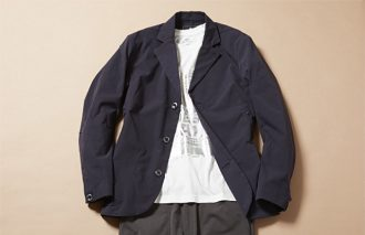 ジャケット着ても脱いでも、おしゃれなTシャツコーデ #10