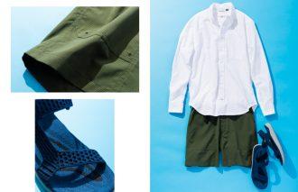 粋なブランドで、大人なシャツと短パンとサンダル コーデに! #8