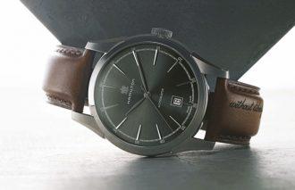 古き時代のたたずまいがこだわる男の腕時計の条件 HAMILTON/ハミルトン