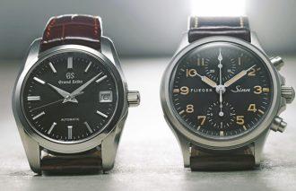 古き良き男の鉄板高級時計【Sinn(ジン)&GRAND SEIKO(グランドセイコー)】