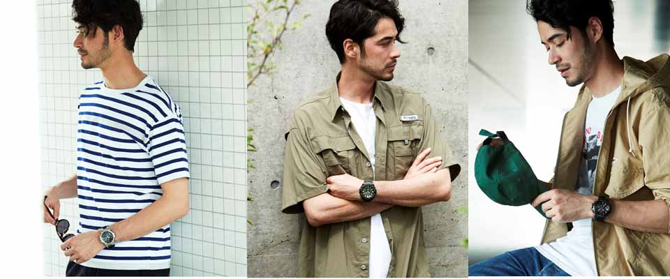 35周年を迎えたG-SHOCK 腕時計もファッションもスポーティが気分!